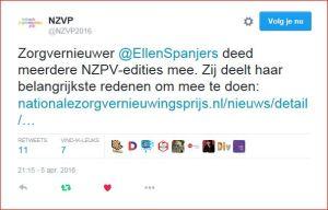 NZVP2016 tweet